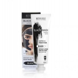 REVUELE Black Face Mask Express Detox 80ml