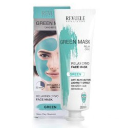 Revuele Green Face Mask Cryo Effect 80ml